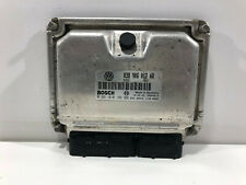 Centralina Motore Bosch Volkswagen Polo 6N 6N2 1.9 SDI 0281010109 038906012