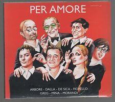 LELIO LUTTAZZI PER AMORE ARBORE DALLA MINA MORANDI GIANNI FERRIO CD SIGILLATO!!!