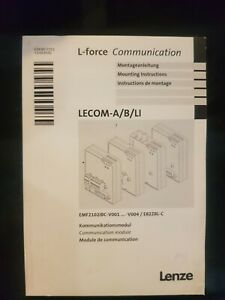 Lenze Drive LECOM-A B LI L-force Communication cable