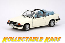1:18 Sun Star - 1984 Ford Escort Mk3 GL Cabrio - Diamond White NEW IN BOX