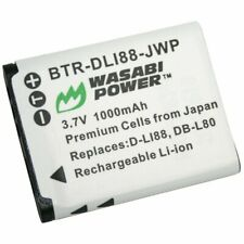 Wasabi Power Battery for Sanyo DB-L80, DB-L80AU