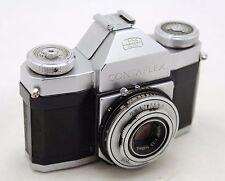 Zeiss Ikon Contaflex, vintage 35mm camera, lens Carl Zeiss Tessar 2,8/45mm