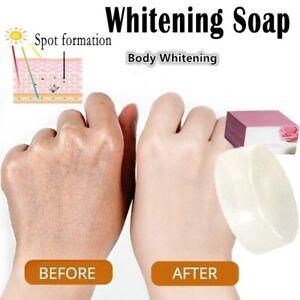 Whitening Crystal Soap Body Care Bleaching White Skin Tender Essence Clearing