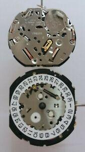S. EPSON YM62A chrono/alarm movement , date @ 3 , seiko 7T62A compatible