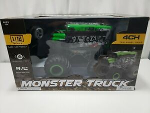 1/16th R/C Monster Truck 4 Ch 2 wheel drive King of the Deep Forest.