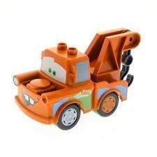 1 x Lego Duplo Fahrzeug Disney Pixar Cars Hook dunkel orange braun 88764pb01