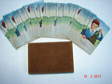 Vintage Playing Cards - Boy with Fish - Breslin & Co., Tamaqua, Pa