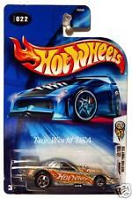 2004 Hot Wheels ZAMAC #22 Mustang Funny Car blue Ford logo