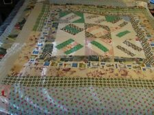 "ANTIQUE QUILT 71"" X 82"""