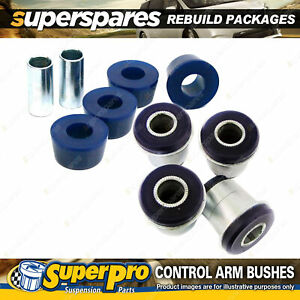 Front SuperPro Control Arm Bush Kit for Mazda B-Serie Bravo UN 2WD 1999-2006