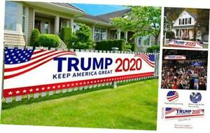 Never Ever Let You Down Political Campaign Rally Lawn Sign Double Sided Print,16 x 12 Inch President Donald Trump 2020 Yard Sign Show Your Republican Presidential Support Keep America Great