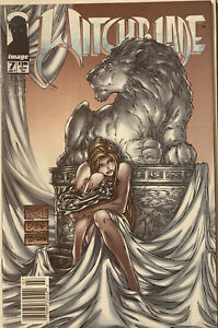 Lot Of 2 Rare Newstand Editions Witchblade #7,8 See Pics