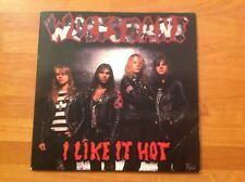 WOLFSBANE - 1989 vinyl 45rpm 7-Single - I LIKE IT HOT
