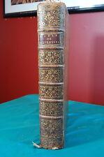 La Sainte Bible Le Vieux at Le Nouveau Testament Ostervald 4th Ed Neuchatel 1772