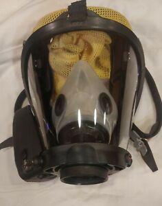 Honeywell Survivair Sperian Warrior SCBA Firefighter Facepiece w/Amplifier