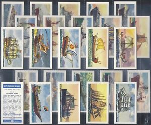 MIRANDA-FULL SET- SHIPS THROUGH THE AGES (25 CARDS) - EXC+++