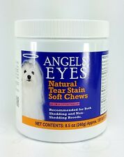 angels eyes SOFT CHEWS 120 CT natural tear stain remover chicken liver flavor
