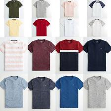 Hollister Must Have Tee T-shirt Crew Neck Short Sleeve cotton S M L XL 2XL