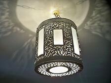 Lustre plafonnier marocain fer forgé lampe applique lanterne suspension i2
