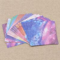 Faltpapier Doppelseitig Kosmos Galaxis Basteln Origami Papier x55 Bastelpapier