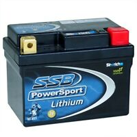 SSB PowerSport NEW LH5L-BS Lithium Ultralite Starter 12V Motorcyle Battery