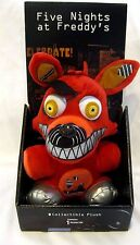 "Five Nights at Freddy's 10"" Nightmare Red Foxy Plush-FNF Red Foxy Plush-New!"