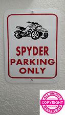 CAN-AM SPYDER F3 - METAL PARKING SIGN