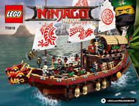 ~~LEGO THE NINJAGO MOVIE 70618 - INSTRUCTION MANUAL ONLY