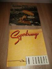 Supertramp 5x vinilo LP Colección + cuaderno Supertramp in Europe