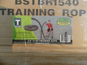 Body Solid Training Battle Rope ~ NEW 1.5 in x 40 ft