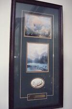 Thomas Kinkade ACCENT PRINTS from limited edit lithograph, Yosemite Park, COA