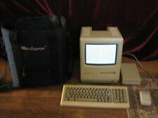 Vintage Apple Macintosh Plus Desktop Computer - M0001A  Works with MacLuggage