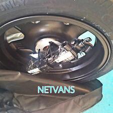 """kit rueda de repuesto galleta alu 17"""" para JAGUAR XF con gato llave y bolsa"""