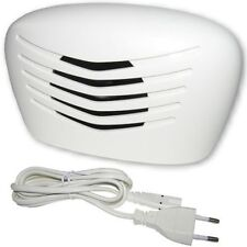 Ultrasonic pest repeller for mice, fleas, ticks, spiders