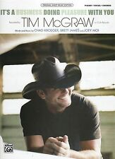 Tim Mcgraw It's A Business Doing Pleasure With You Notenblatt