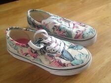 Vans Chaussure Fille Fleur Pointure 28 US Kids 11,5 Neuf