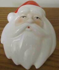 Porcelain Santa Face by Midwest, Night Light Swivel Plug Looks Unused!