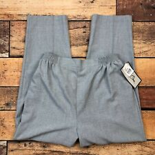 Bend Over Pull On Dress Pants Size 18 Womens Gray Straight High Rise HA259944