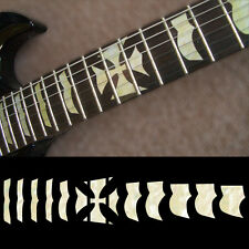 Fret Markers Neck Inlay Sticker Decal For Guitar - ESP Hetfield Iron Cross