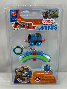 World's Smallest Coolest ~ Thomas & Friends Minis ~ Keychain Track ~ New