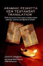 Aramaic Peshitta New Testament Translation by Janet M. Magiera (2006, Spiral)