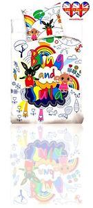 Duvet Set Bing&Sula TODDLER Duvet Cover&pillow Case100%Cotton,Official Licensed
