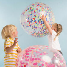 Creative  90cm Colorful Confetti Balloon Clear Balloon Wedding Decoration