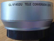 JVC GL-V1452U 52mm Tele Conversion Lens 1.4x for JVC GR-DV2000 - Made in Japan