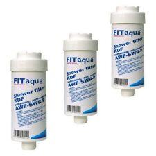 3x FITaqua Wasserfilter Duschfilter Kalk Chlor Rost Dusche Kalkfilter mit KDF