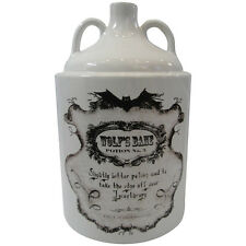 NEMESIS NOW Wolfs Bane Potion bottle No 5 pot jar ornamental  23cm Bargain £12