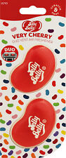 1 X Twin Pack 3d Jelly Belly Clip Vent Duo Bean GEL Very Cherry Air Freshener