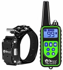 Handheld Remote Dog Training Collar - Programmable Remote w/3 Modes (Static Corr