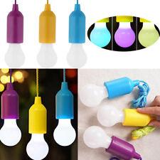 Retro LED Lampe Licht Seil Batterie Zugschnur Glühbirne Garten Party Deko Bulbs