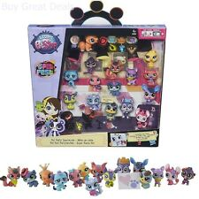 Deluxe Girls Playset Toys Littlest Pet Shop Party Pack Gift Set Box Figures New